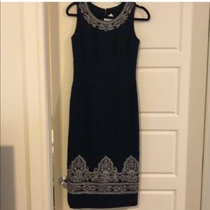 Wool embroidery dress. NWT